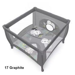 Baby Design Play lajháros utazójáróka - 17 Graphite