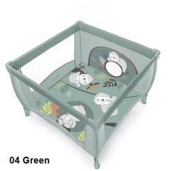 Baby Design Play lajháros utazójáróka - 04 Green