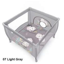 Baby Design Play lajháros utazójáróka - 07 Light Gray