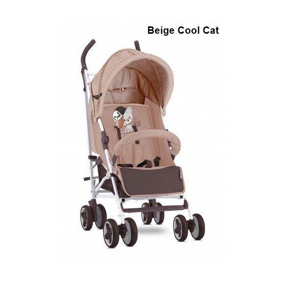 Lorelli Ida sportbabakocsi - lábzsákkal - Beige Cool Cat