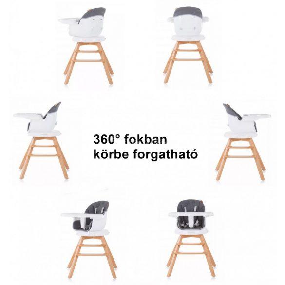 Chipolino Rotto fix 3in1 etetőszék+székmagasító - latte