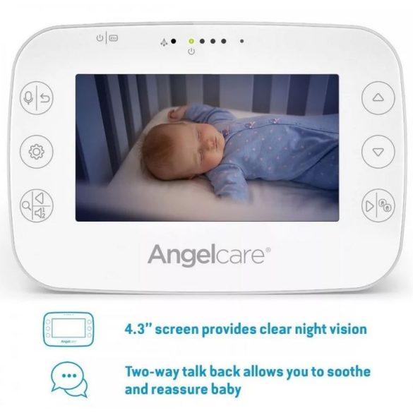 Angelcare AC327 légzésfigyelő (vezeték nélküli) és kamerás kétirányú babaőrző
