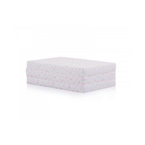 Chipolino összehajtogatható matrac 60x120 cm - Pink Stars