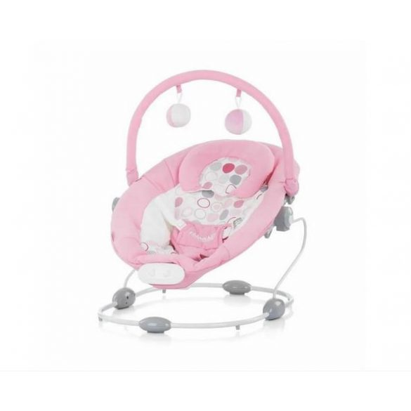 Chipolino Siesta rezgő-zenélő pihenőszék - Pink