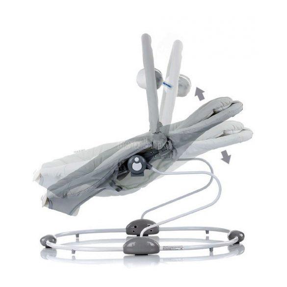 Chipolino Siesta rezgő-zenélő pihenőszék -  gray