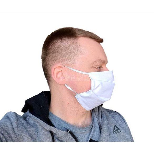 Textil szájmaszk 100% pamut - 20 db