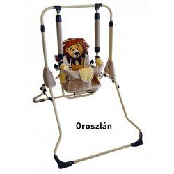 Matpol állványos babahinta karfával - oroszlán
