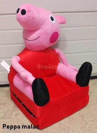 Mesefigurás plüss gyerekfotel - fotelágy - többféle