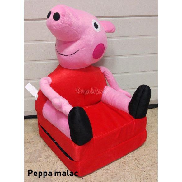 Peppa malac babafotel fotelágy