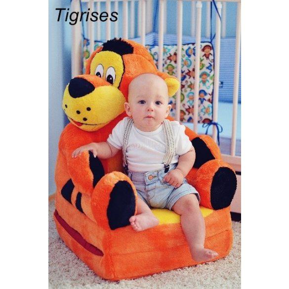Tigris babafotel fotelágy