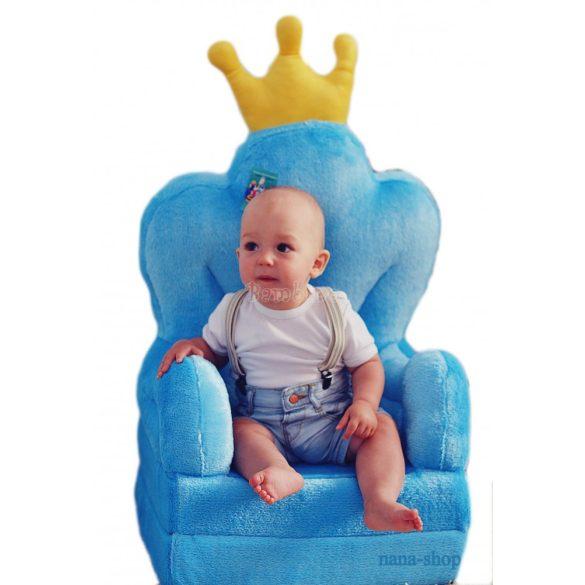 Kék Trón babafotel fotelágy