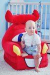 Verdák plüss gyerekfotel - fotelágy