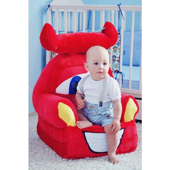 Verdák Villam McQueen babafotel fotelágy