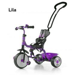 Boby Milly tricikli szülőkormánnyal (több színben)