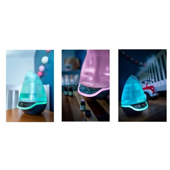 Babymoov Hygro Plusz digitális hideg párásító Örökélet Garanciával