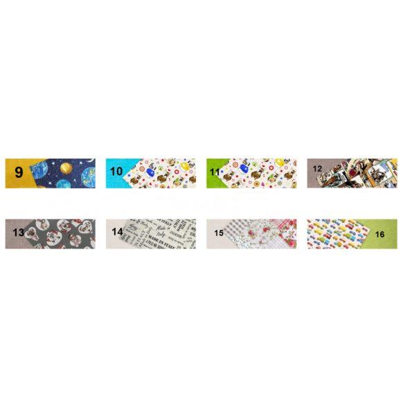 Kocka alakú babzsák puff (több színben)