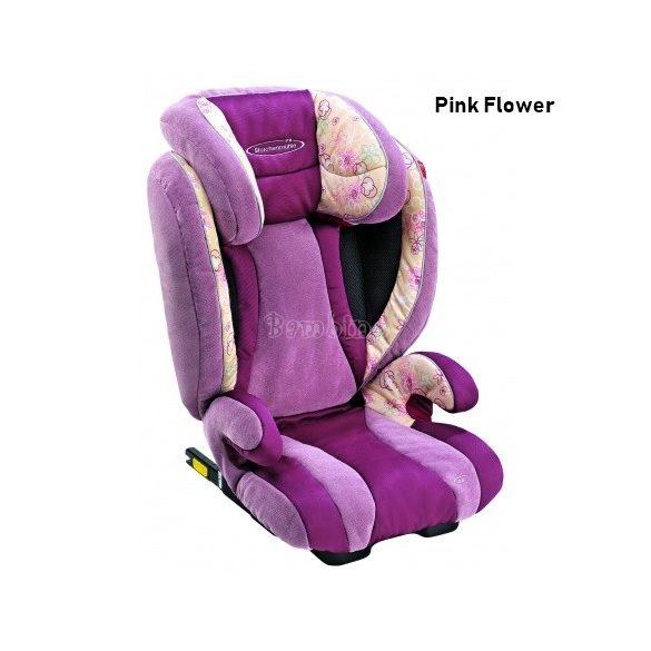 Storchenmühle Solar Seatfix gyerekülés 15-36 kg - Pink Flower