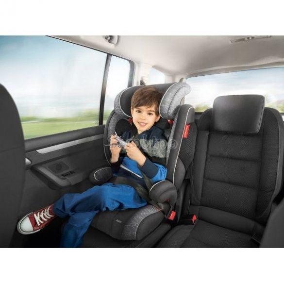 Storchenmühle Solar Seatfix Isofix gyerekülés 9-36 kg védőpajzzsal - Rosy