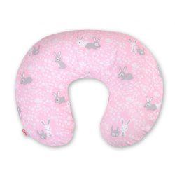 BabyLion Luxus etető párna - Rózsaszín nyuszik