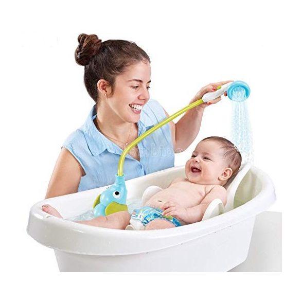 Yookidoo elefántos fürdőjáték és hordozható babazuhany 2in1