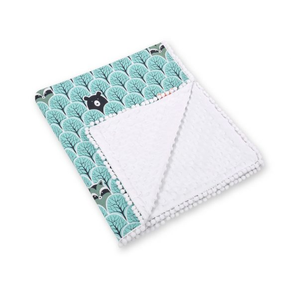 Két oldalú takaró-inkább kisfiúknak (több színben)