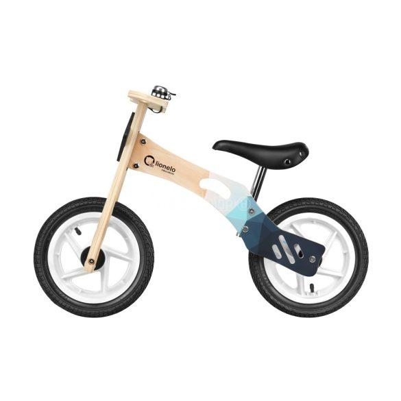 Lionelo Willy Air fa futóbicikli felfújható kerekekkel és ajándék tartozékokkal