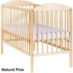 Drewex Kuba II Standard kiságy babaágy 60x120 - Natural Pine