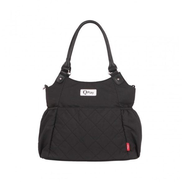 Qplay Amy pelenkázó táska - Black