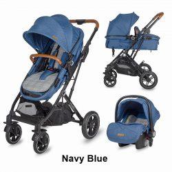 Coccolle Ravello 3in1 babakocsi - Navy Blue