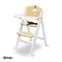 Lionelo Floris fa lépcsős etetőszék - White