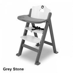 Lionelo Floris fa lépcsős etetőszék - Grey Stone