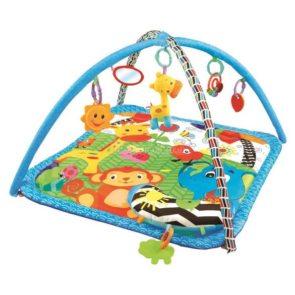 Sun Baby állatkertes játszószőnyeg