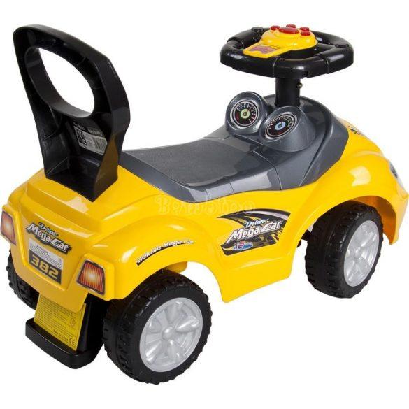 Sun Baby Mega Ride on sárga bébitaxi