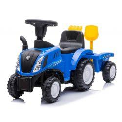 Sun Baby New Holland traktor, bébitaxi -  pótkocsival (több színben)