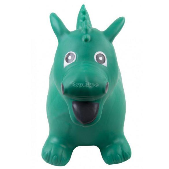 Sun Baby gumi sárkány ugráló-zöld