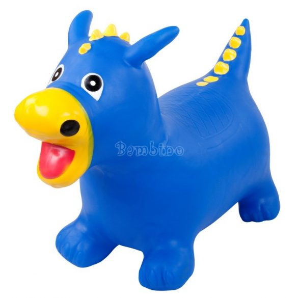Sun Baby gumi sárkány ugráló játék-kék