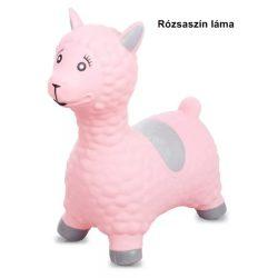 Sun Baby gumi ugráló rózsaszín láma