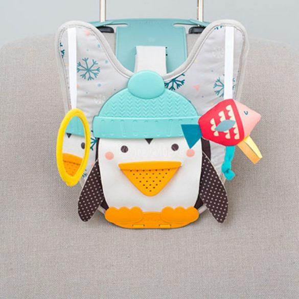 Taf Toys zenélő pingvin autós játék távirányítóval
