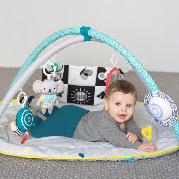 Taf Toys játszószőnyeg játékhíddal All around me