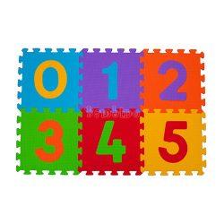 BabyOno szivacspuzzle szőnyeg számok 6 db