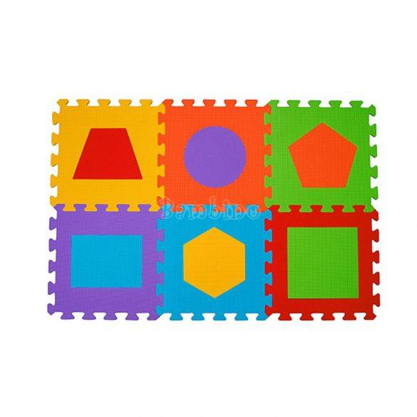 BabyOno szivacspuzzle szőnyeg formák 6 db