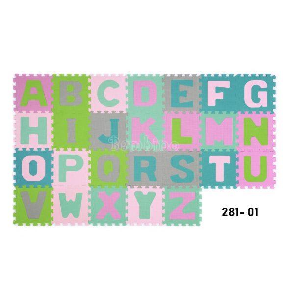 BabyOno habtapi puzzle szőnyeg - betűs I.