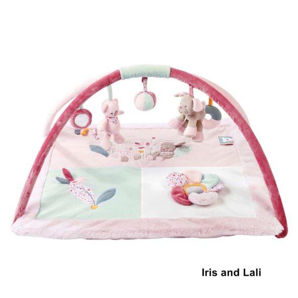 Nattou plüss játszószőnyeg - Iris and Lali
