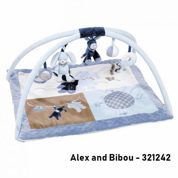 Nattou plüss játszószőnyeg - Alex and Bibou