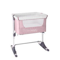 Kikkaboo Bonne Nuit ringatható babaöböl és bölcső 2in1 - pink