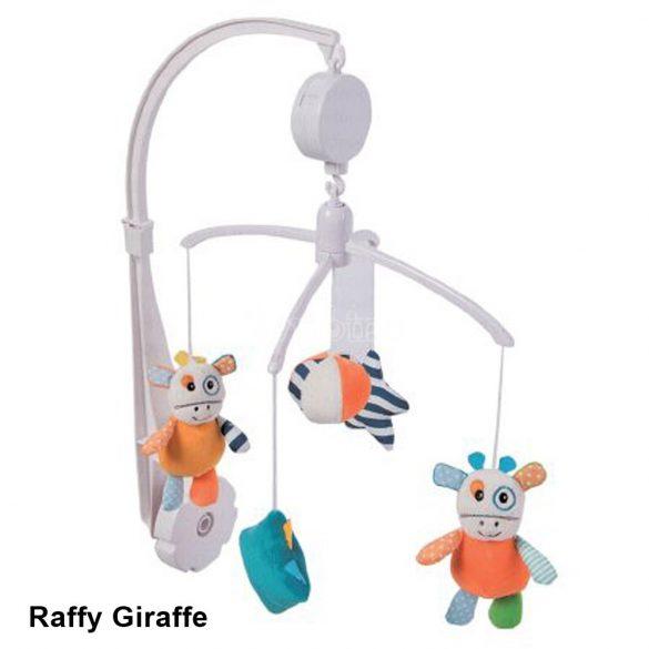 Kikkaboo plüss zenélő forgó - Raffy Giraffe