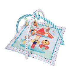 Kikkaboo játszószőnyeg - Fun Fair kék - fehér