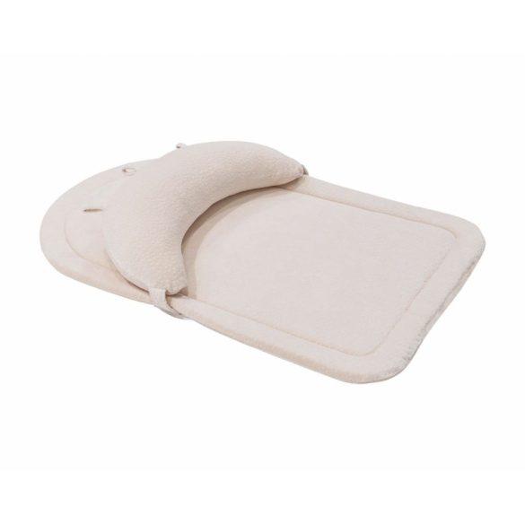 Kikkaboo memóriahabos matrac pocakpárnával - bézs velvet