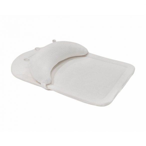Kikkaboo memóriahabos matrac pocakpárnával - fehér velvet
