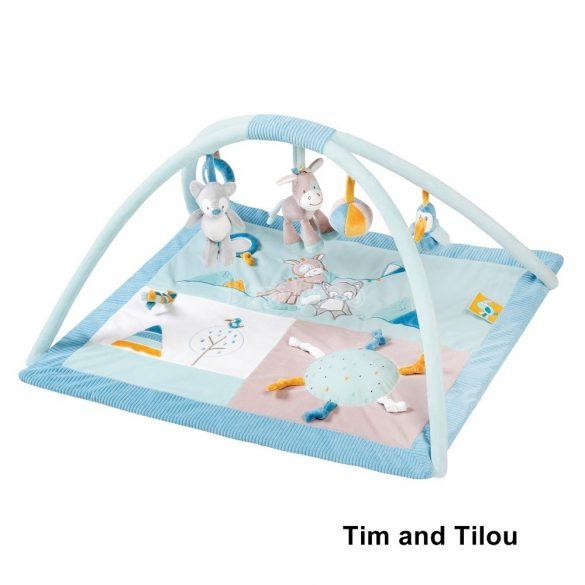 Nattou plüss játszószőnyeg - Tim and Tilou